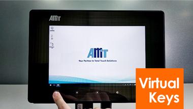 AMT PCAP 触控面板虚拟按键功能