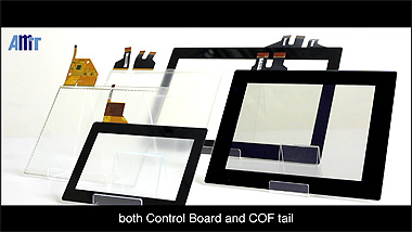 AMT Projected Capacitive Touch Panel (PCAP/PCI)